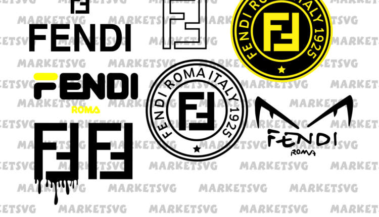fendi logo svg