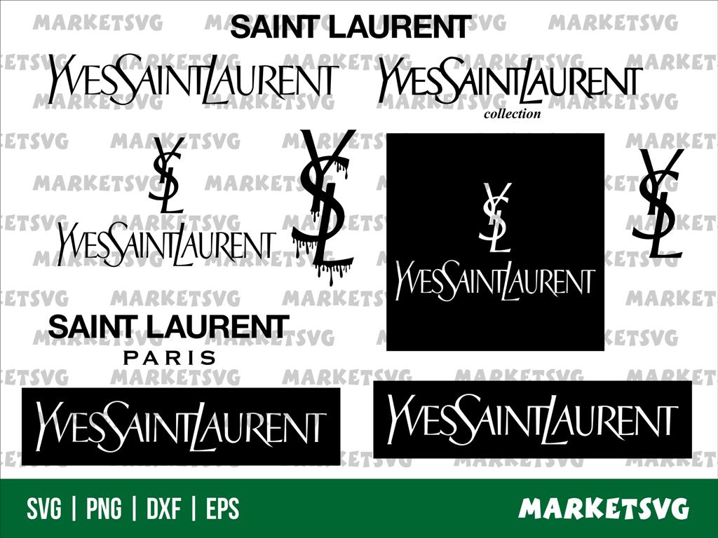 saint laurent logo svg