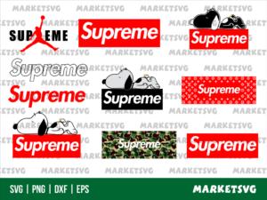 supreme logo svg