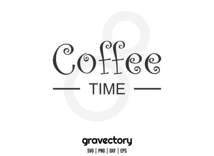 coffee time free svg