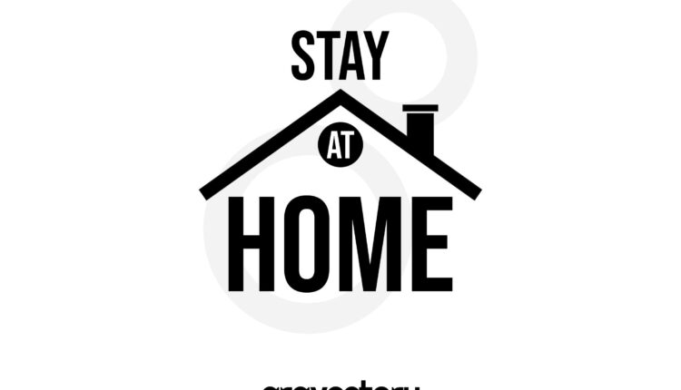 stay at home svg