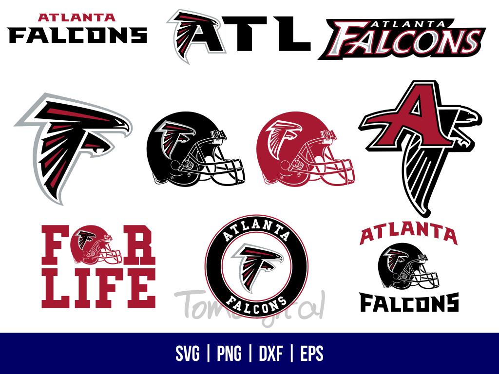 Atlanta Falcons NFL American Football Logo SVG