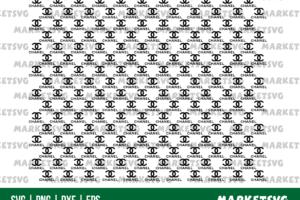 chanel pattern svg