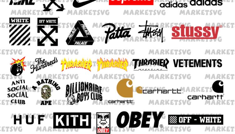 Fashion Brands Logo SVG Bundle