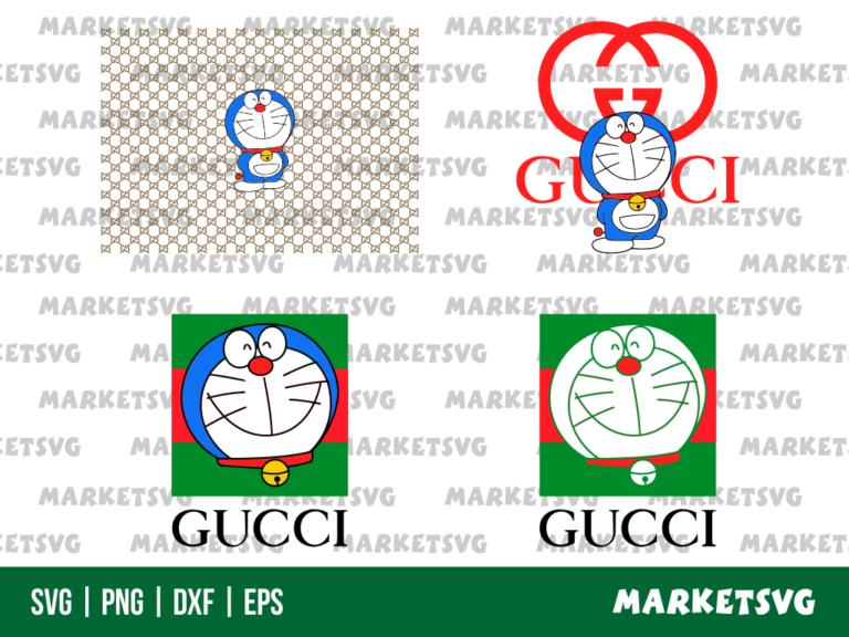 Gucci Doraemon SVG