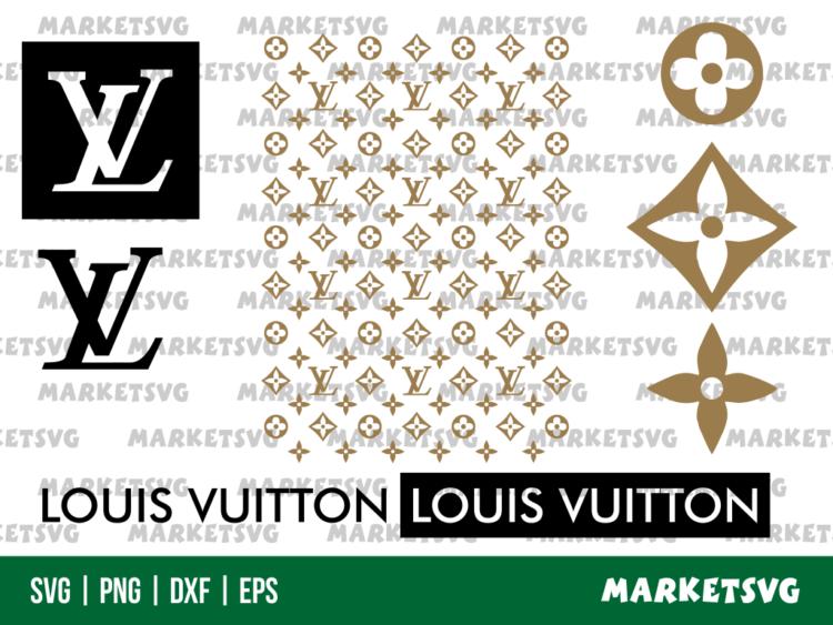 Louis Vuitton Pattern SVG Bundle