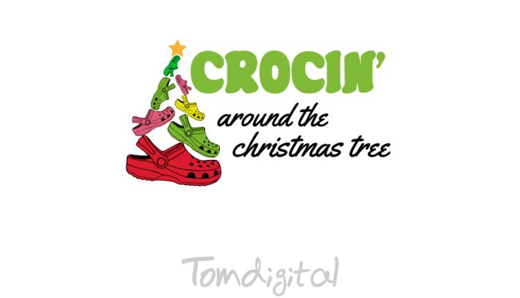 Crocin Around The Christmas Tree SVG