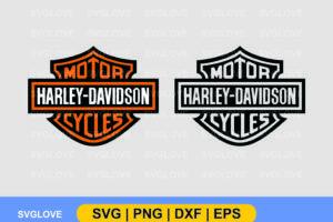 Harley Davidson Logo svg bundle