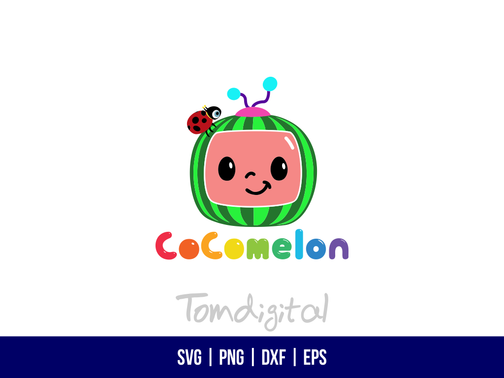 Cocomelon SVG Cut File Cocomelon SVG Cut File
