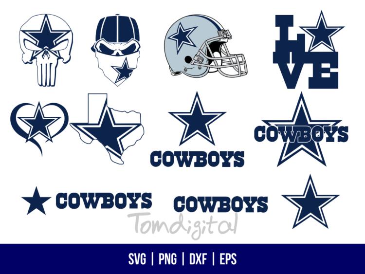 Dallas Cowboys SVG
