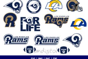 Los Angeles Rams SVG