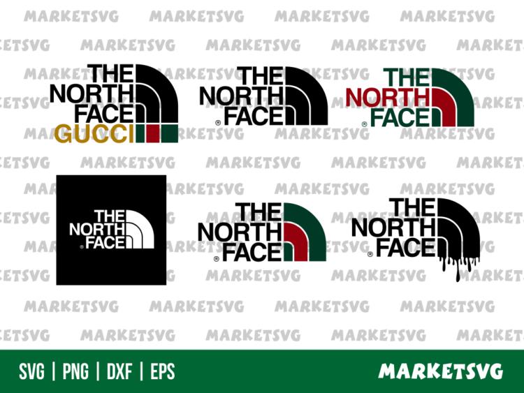 The North Face Gucci SVG