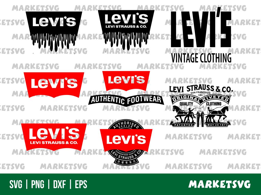 Levi's Logo Blood Drip SVG