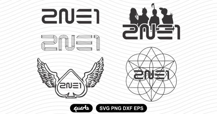 2ne1 logo vector bundle