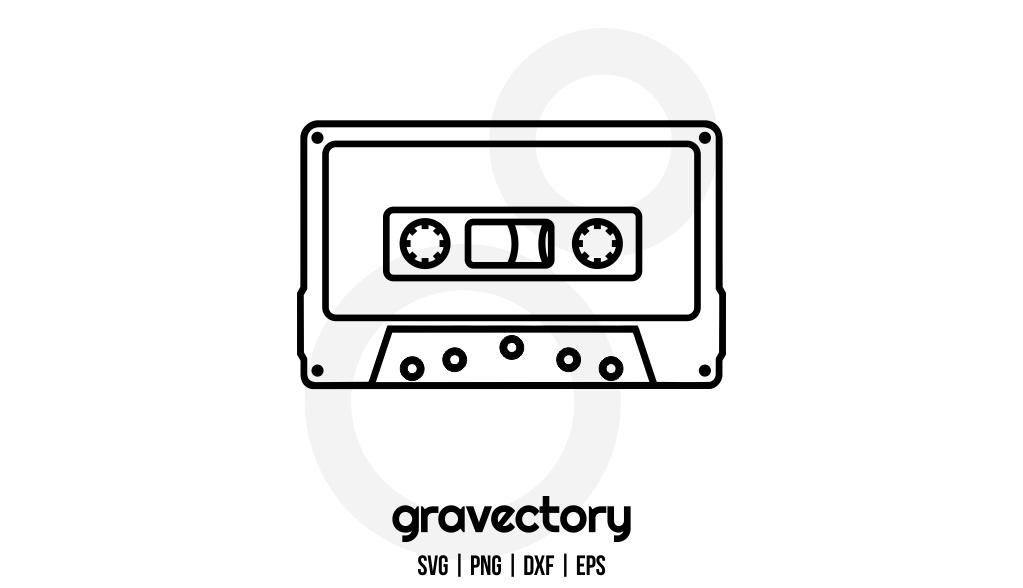 Cassette Tape SVG