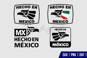 Hecho en Mexico SVG