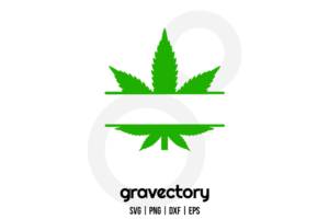Marijuana leaf svg
