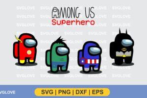 among us character superhero