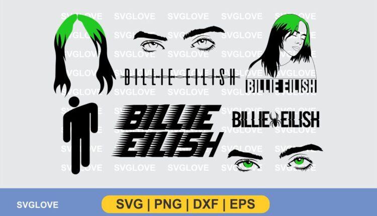 billie eilish svg bundle