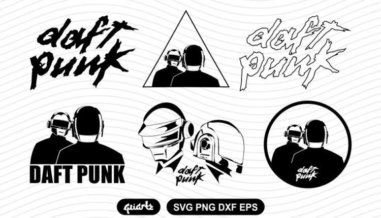 daft punk svg bundle
