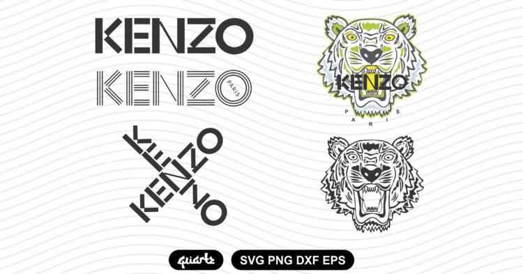 kenzo logo svg bundle