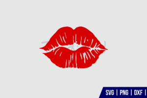 lips kiss svg