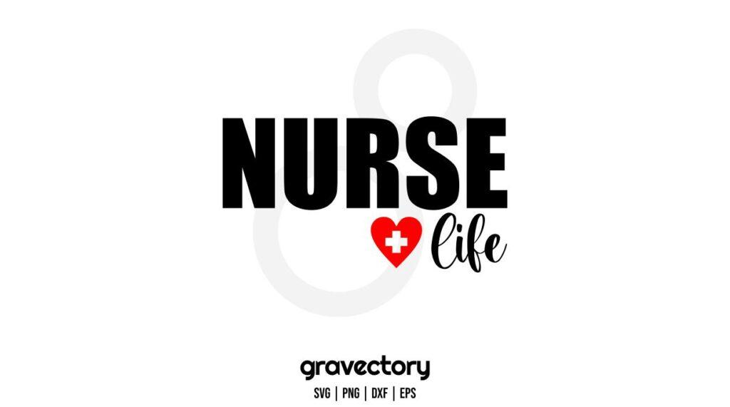 nurse life svg