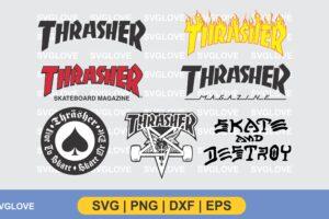 Thrasher Logo SVG