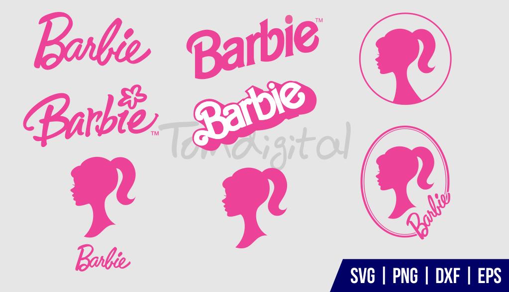 Barbie Silhouette SVG