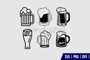 Beer Mug Clipart SVG