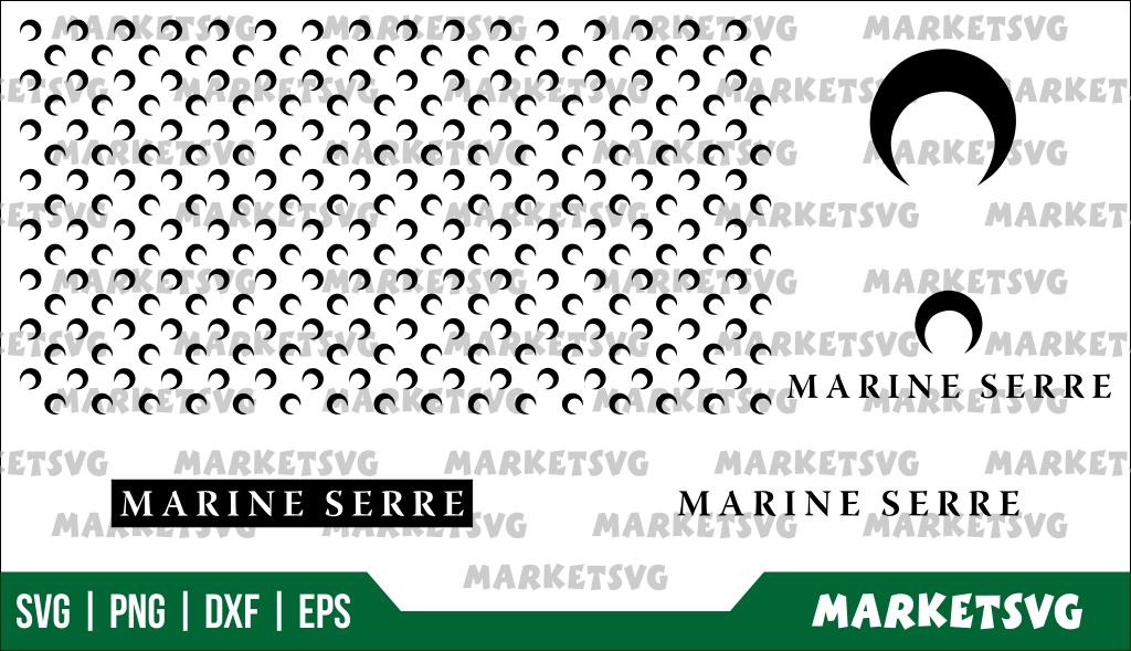 MARINE SERRE PATTERN SVG