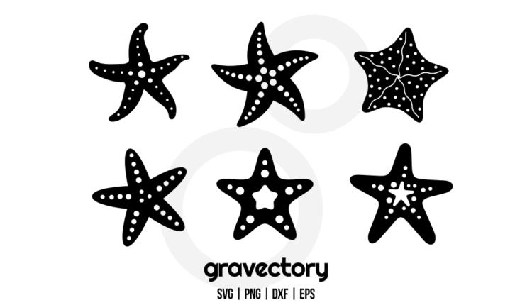 Starfish SVG