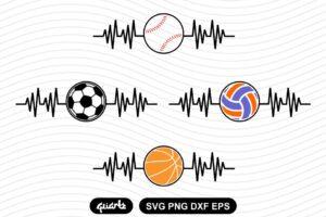 heartbeat Sport svg