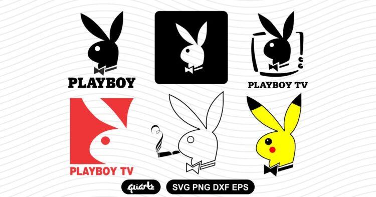 playboy logo svg bundle