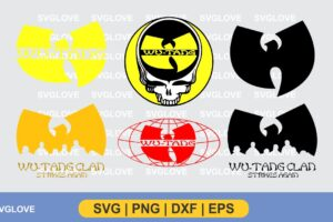 wu tang logo svg bundle