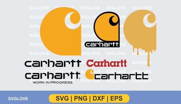 carhartt logo svg bundle