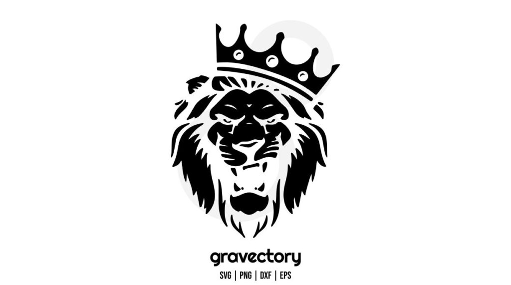 king lion svg King Lion SVG