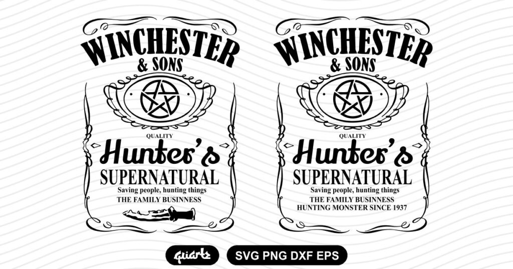 WINCHESTER AND SONS SVG Cut file