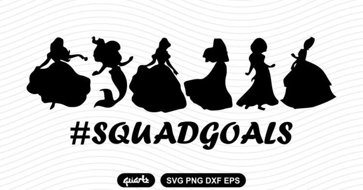 disney princess svg squadgoals