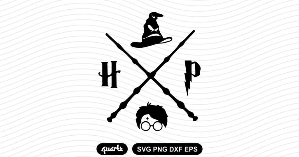 harry potter wand svg Harry Potter Wand SVG