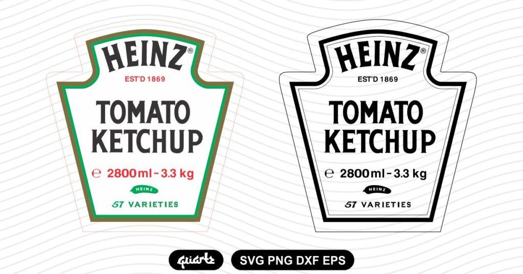 heinz tomato ketchup svg Heinz Tomato Ketchup SVG