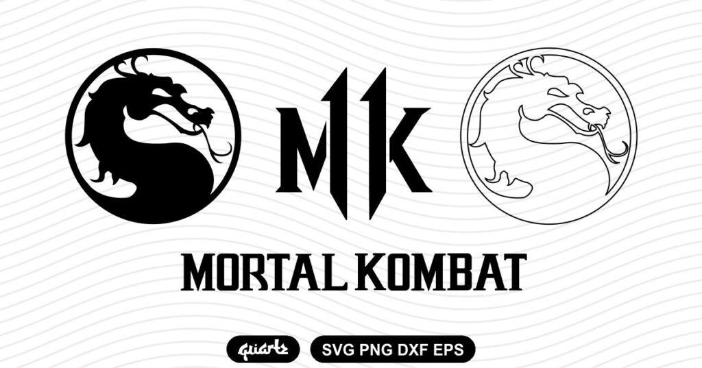 mortal kombat svg Mortal Kombat SVG