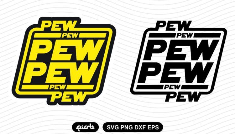star wars pew pew pew svg