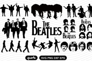 the beatles svg