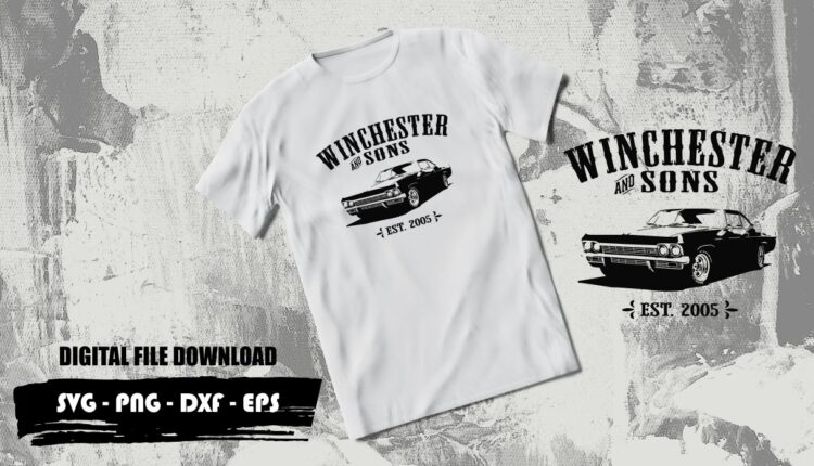 winchester and sons tshirt svg