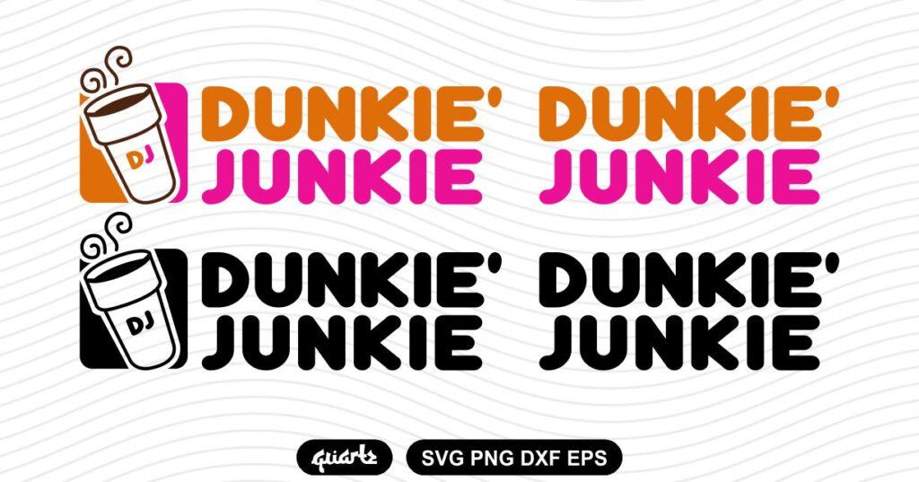 DUNKIE JUNKIE SVG Dunkie Junkie SVG
