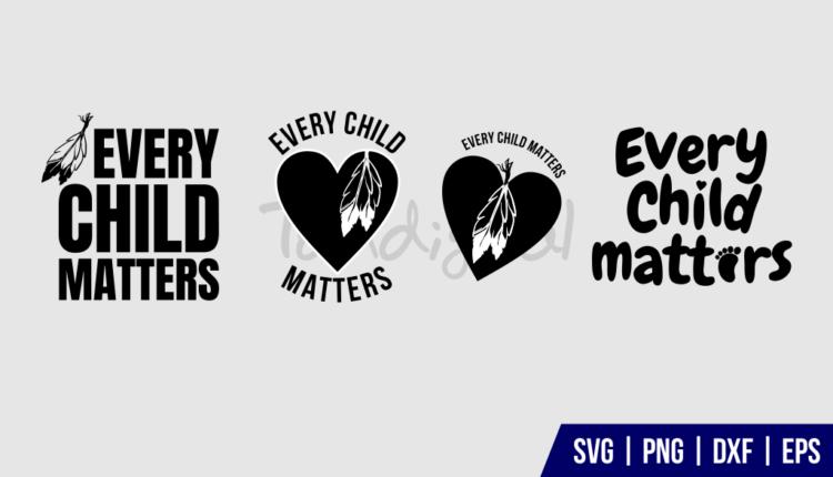 Every Child Matters SVG Bundle