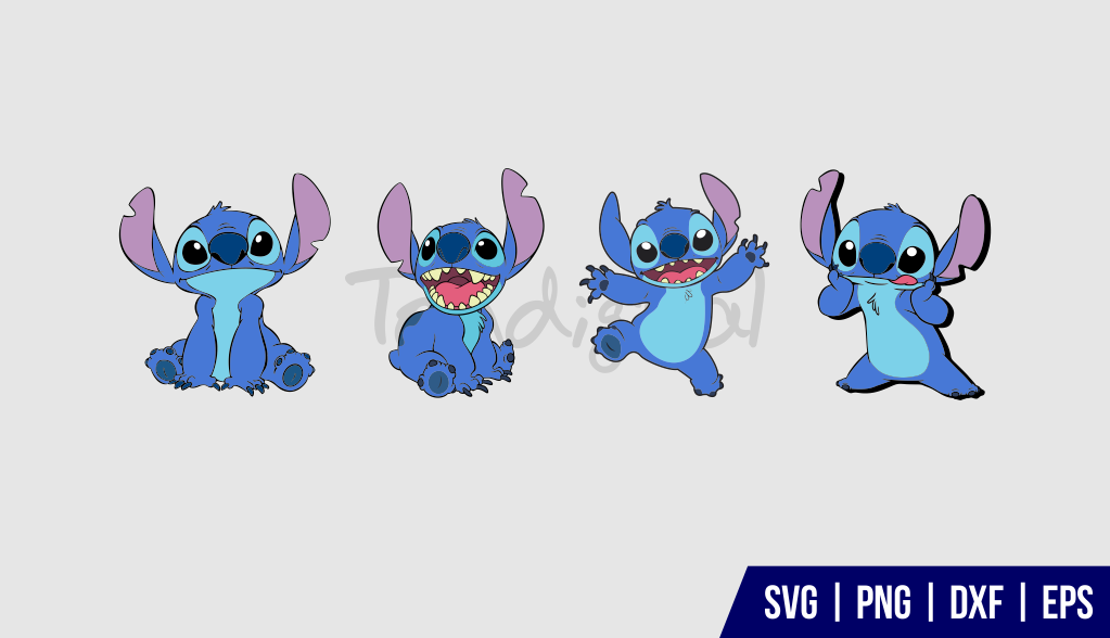 Lilo And Stitch SVG Cut File