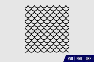 Mermaid Scales SVG Cut Files