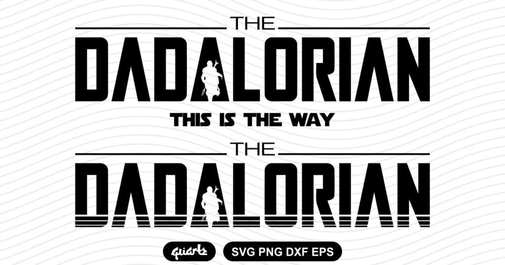 THE DADALORIAN SVG